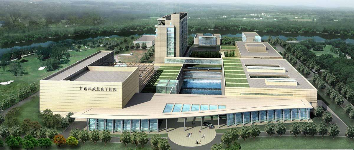 甘肃武威重离子医院采用4万双面彩钢酚醛板