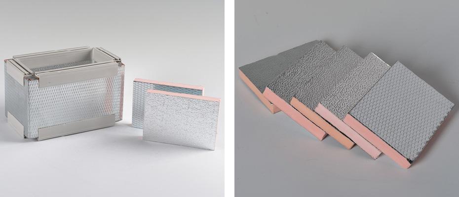 单面镀锌钢酚醛复合保温板