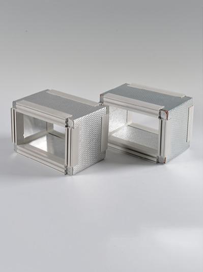 双面镀锌钢酚醛复合保温板