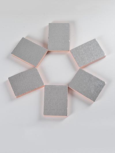 双面夹筋铝箔酚醛复合保温板